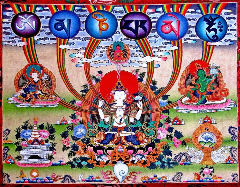 Avalokiteshvara Chaturbhuja (10)