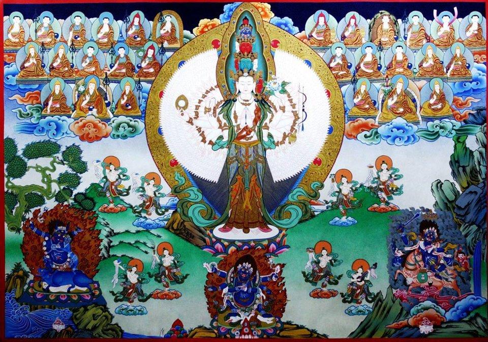 Avalokiteshvara SahasrabhujalokeshvaraGDS