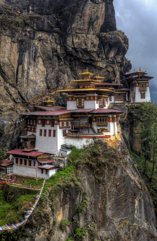 The setting for this monastery could not be any more dramatic. It's absolutely breathtaking - not just because the air is a bit thinner at altitude, but because it's built on a sheer cliff at 3,120m (10,240ft). The Tiger's Nest, as it's more popularly known, was built back in 1692. Many Buddhist temples and monasteries are located away from the population to enable peaceful meditation. After the challenging hike up, I was more than happy to rest and inhale the intoxicating scent of incense as I settled my thoughts. I'm by no means an incense expert, but I do miss the scents from the temples and monasteries I visited in Bhutan. I just wish I could get those same scents in some sort of oil diffuser so I don't have to deal with the smoke from the incense. Even just thinking about those scents, takes me back to a peaceful and quiet place unlike any other I had ever been to.