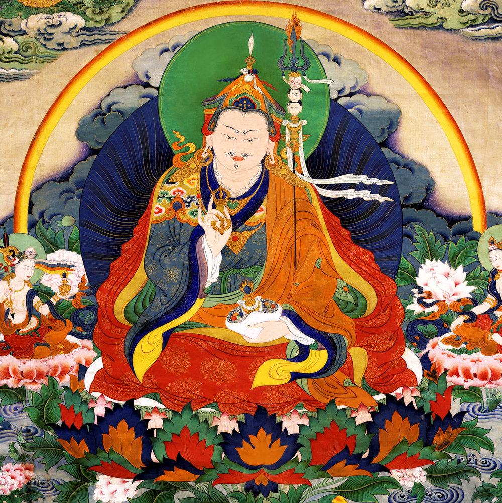 Guru+Rinpoche+Seven+Lines+Prayer+by+Choekyi+Gonpo